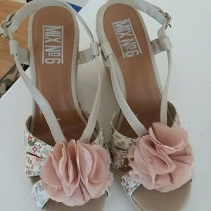 Mix No 6 Floral Wedges